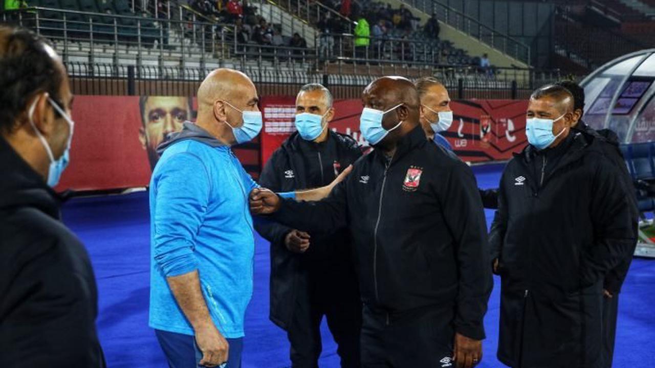 Mosimane responds to Ibrahim Hassan criticism