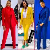 Ladies, Check Out Beautiful And Colourful Suits That May Inspire You