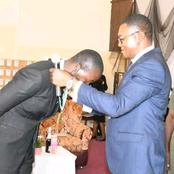 Law Students Association Of Nigeria Present An Award Of Honour To Makaman Toto