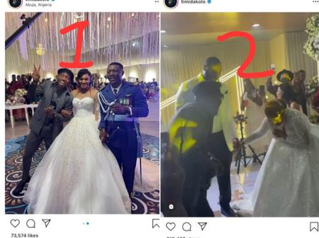 Year's after he was shot at the lobby, See what Timi Dakolo was spotted doing in 8 wedding ceremony