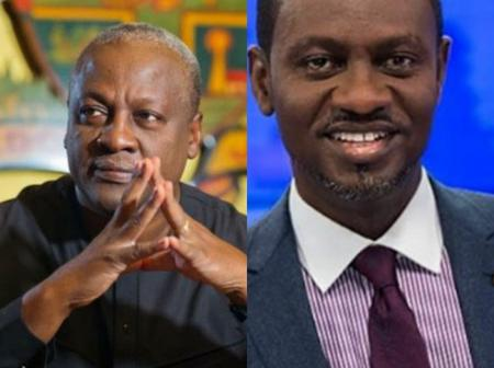 2020 Elections: Mahama vindicates JoyNews journalist, Isreal Laryea?