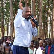 Kenyans React After Moses Kuria Said This In Gatanga After He Allegedly Said Goons Were Hired
