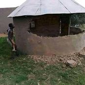 Boyfriend demolishes a house after finding a girlfriend Cheating