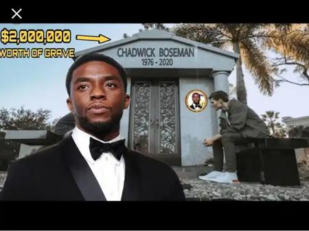 See multi millions dollars spent on Chadwick Boseman (black panther hero) Graveyard.