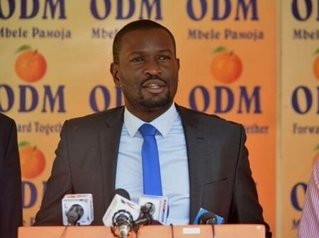 Sifuna Breaks Silence Few Minutes After Allegations That He Has Been Sacked As ODM Secretary General