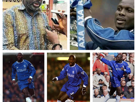 Former Chelsea striker and President of Liberia celebrates his 54th birthday today (pictures)