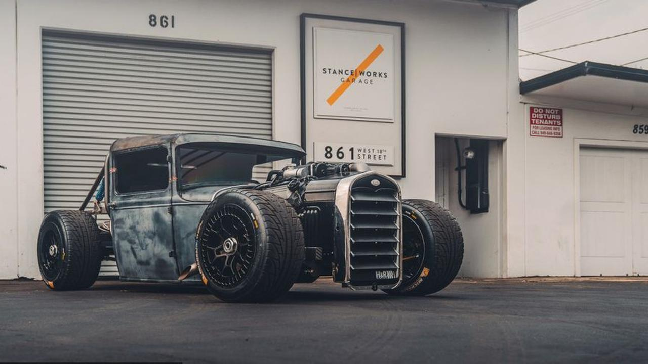 This 1931 Ford Model A Truck Is The Perfect Rat Rod