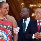 Jacob Zuma crosses the border into Swaziland