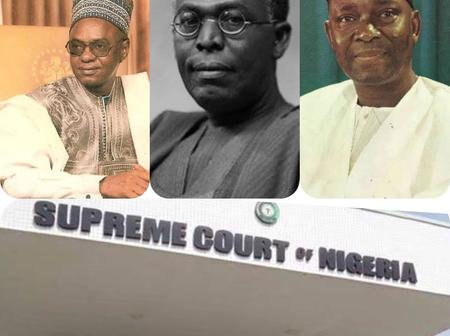 Like USA See How Many Times The S/Court Has Decided The Winner Of A Presidential Election in Nigeria