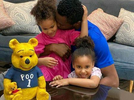 Check out heart melting photos of Mikel Obi and his adorable twin daughters