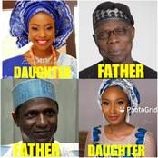 Opinion: Between The Ex Presidents Of Nigeria, Who Has The Most Beautiful Daughter?