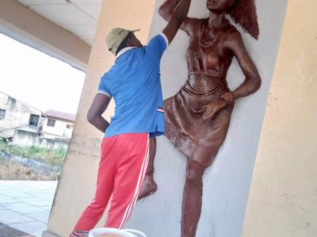 See 10 Beautiful Art Works This NYSC Corps Member Did For His State (Pictures)