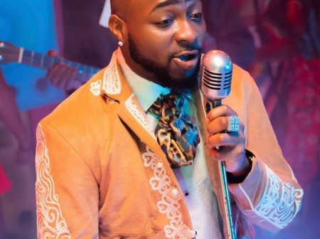 See Davido's Reaction After His Hit Song Got Certified Gold In The United States
