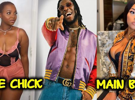 Burna Boy alleged side chic calls out main chic for sliding into her DM asking for proves. Reaction