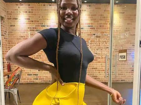 Ghanaian Model Who Is Replacing Hajia Bintu