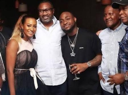 Billionaire Motivation: See Photos Of Dangote, Davido, DJ Cuppy And Otedola