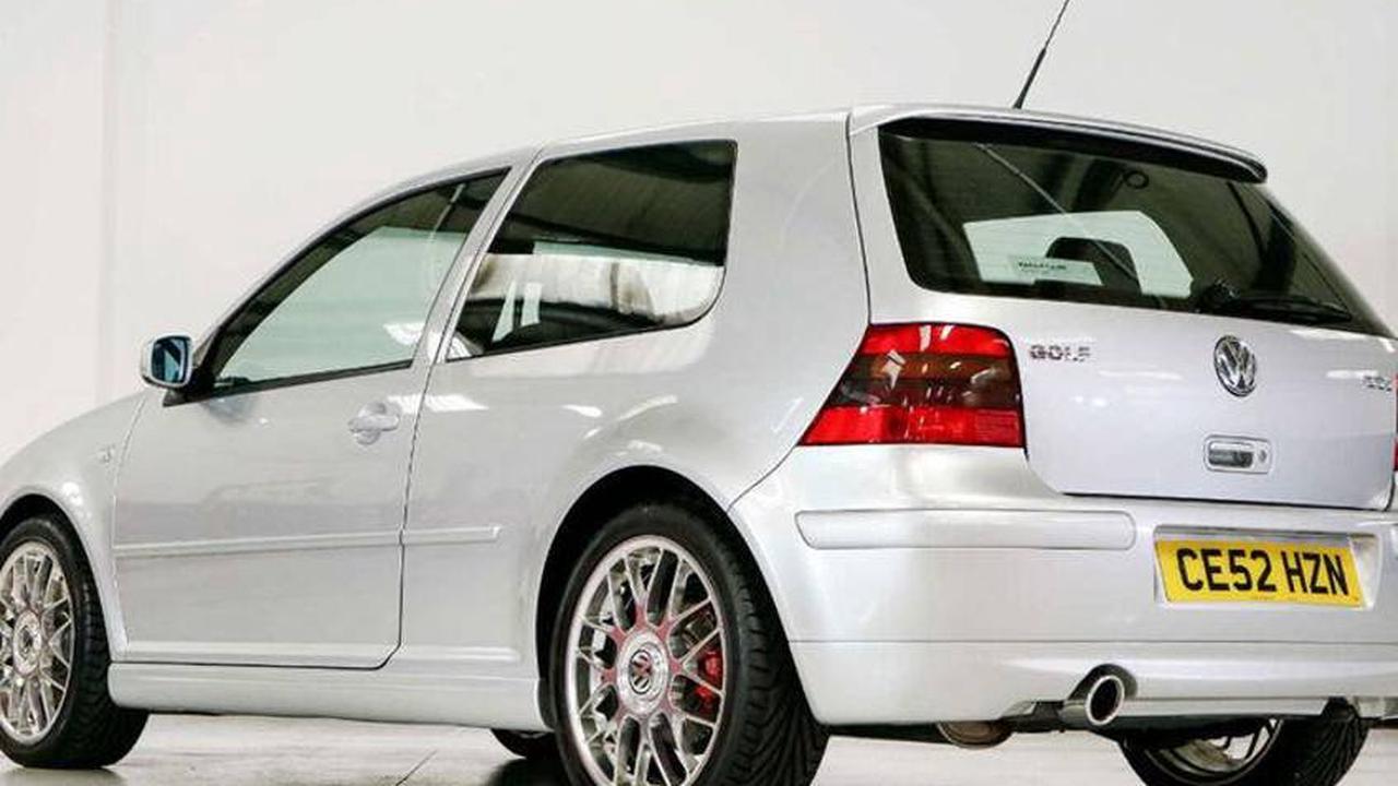 "VW Golf 4 GTI ""25th"" (2002) Auktion: Fast 45.000 Euro für Low-Miler-GTI"