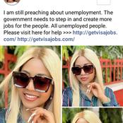 Fans React To Regina Daniels' Post On Facebook
