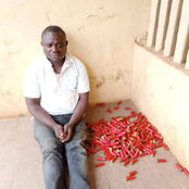 This Man Was Arrested For Allegedly Dealing With Arms And Promotion Of Native Wars in Cross River