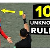 10 Unknown Football Rules You Didn't Know Existed!