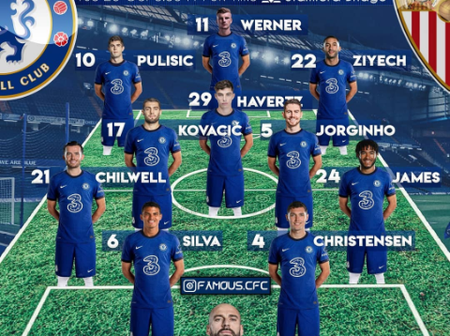 Opinion: How Chelsea Squad Could Lineup And Face Sevilla In Champions League Tomorrow