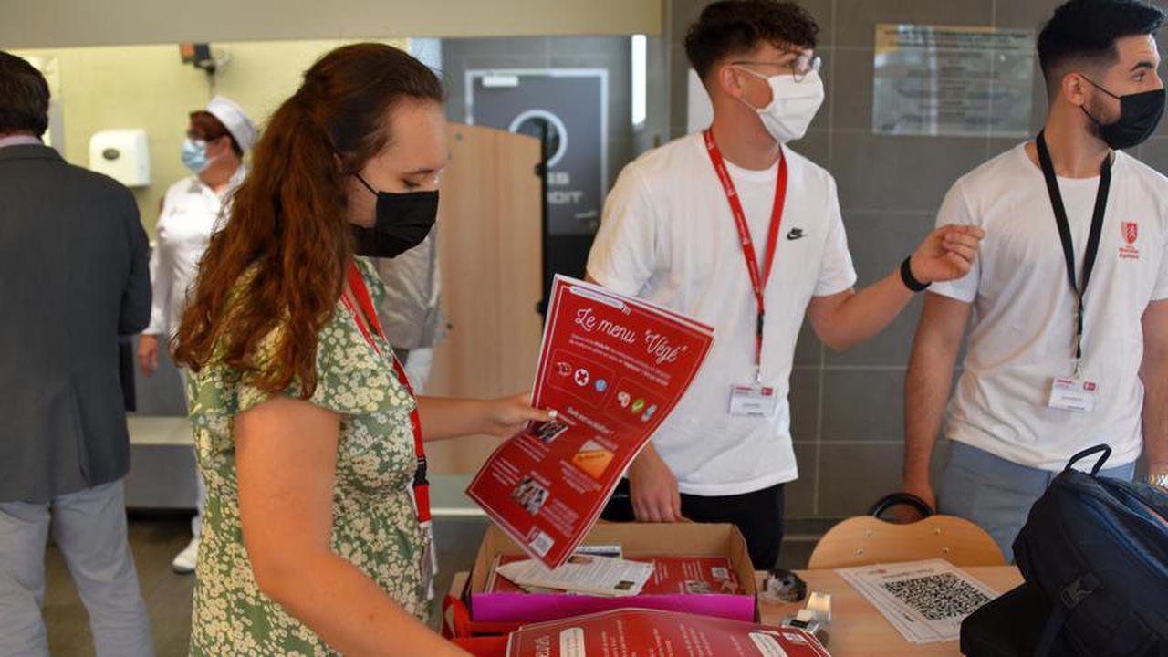 Gironde: les apprentis diététiciens composent un menu végétarien pour les lycéens d'Eysines