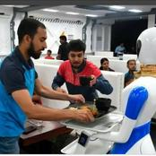 See photos of these restaurants where robots serves as waiters, cooks and wash dishes