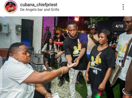Reactions after Cubana Chief priest had a party with his crew