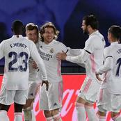 After Winning 2-1 Last night, See The Record Real Madrid Just Created For The First Time Since 2007