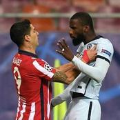 (Image): Antonio Rudiger trolls Luis Suarez with biting jibe
