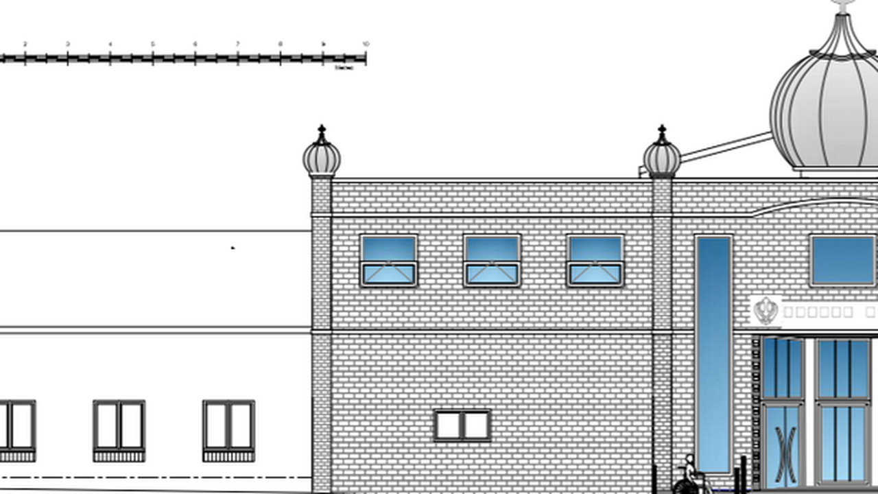 Sikh temple extension and new dome approved