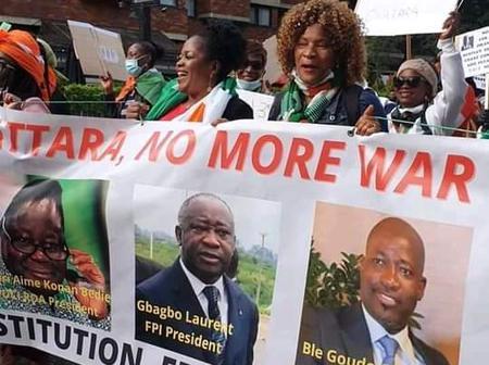 3ème mandat : manifestations des Ivoiriens dans les rues de Londres