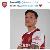 Arsenal Bid Farewell To Mesut Ozil
