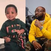 Son Of Grace: See Pictures Of Davido Before Growing Into A Man (photos)
