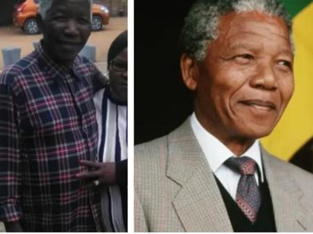 You will be surprised to see man who looks like Mandela