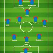 How Barca should line up tonight if they want to win.
