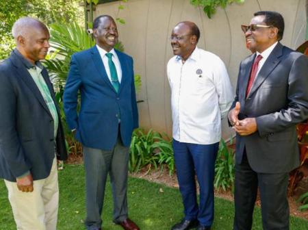 Second Liberators: Mukhisa Kituyi Hits of Uhuru's Support in Alliance Formation With Raila & Kibwana