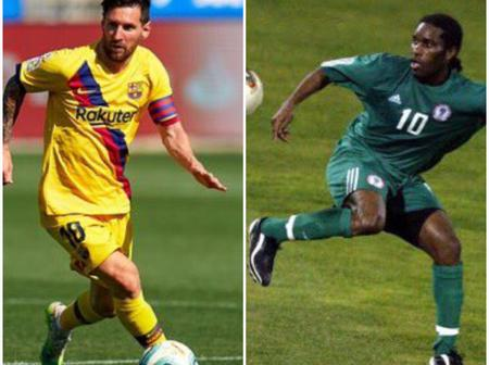 DISCUSSION: Jay Okocha Is A Better Dribbler Of The Ball Compared To Lionel Messi, See Fans' Reactions