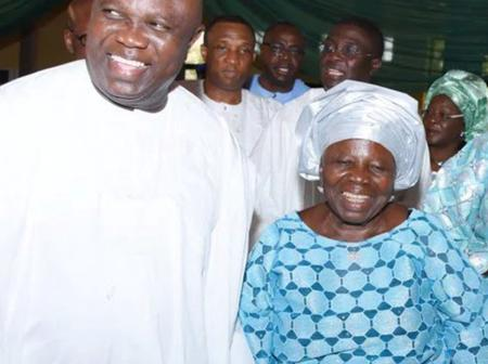 Blessed Mother Indeed, Meet The Beautiful Woman That Gave Birth To Former Governor Ambode