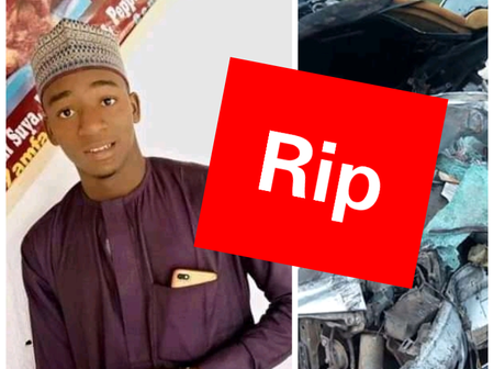 Sad: Another Nigerian Student Lost His Life In Ghastly Motor Accident Today (Photos)