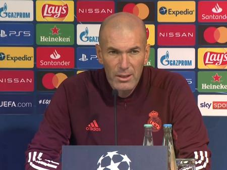Here's What Zidane Said About Mohammed Salah's Transfer Speculation