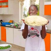 Photos: Celebrity Akothee Amazes Netizens With Her Food