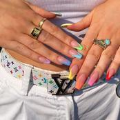 Stylish and awesome acrylic nail designs to try out