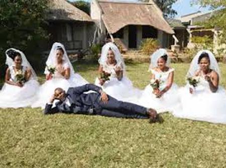 The Traditional Healer Got Married To Six Women In One Day