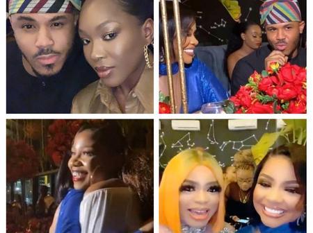 Bobrisky, Ebuka, Tacha and many more A-list celebrities stormed Nengi's birthday (See Photos)