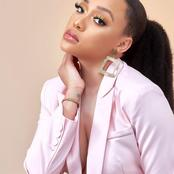 Congratulations messages are pouring for Thando Thabethe on social media