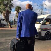 Haibo, Is That Jacob Zuma At A Taxi Rank?
