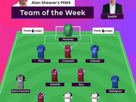 Aston Villa dominate as Alan releases Premier League Team of the Week