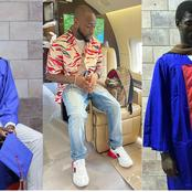 Nigerian Man Graduated With First Class In Engineering, Thanked Davido For Supporting His Education.