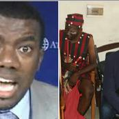 Reno Omokri mocks Sowore after he appeared in court with a native doctor